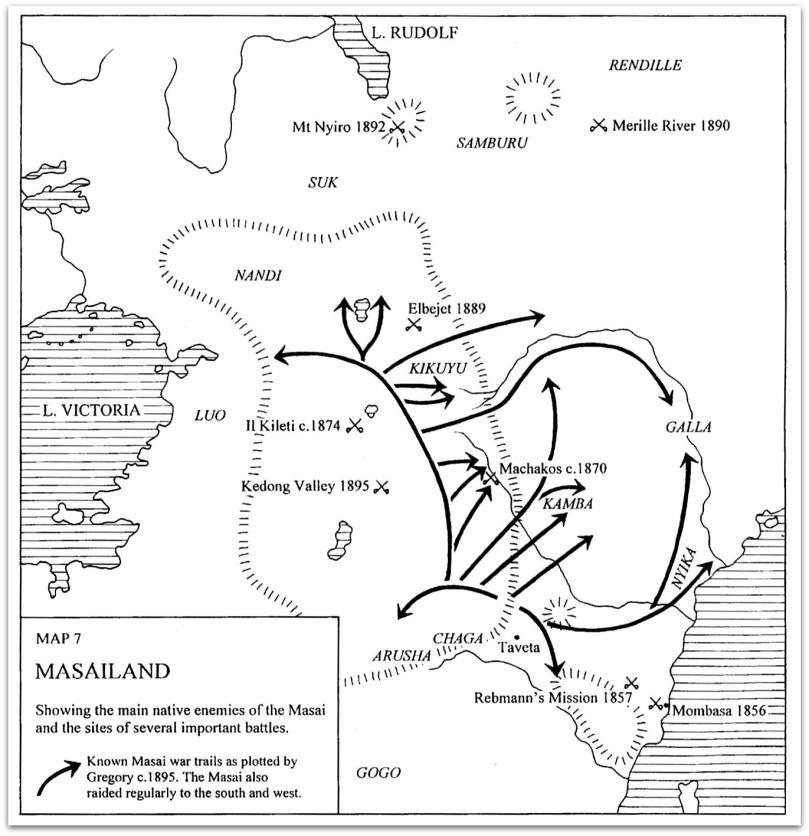 Masailand map