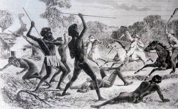 c-359-natives-attacking-shepherds-by-samuel-calvert-1864